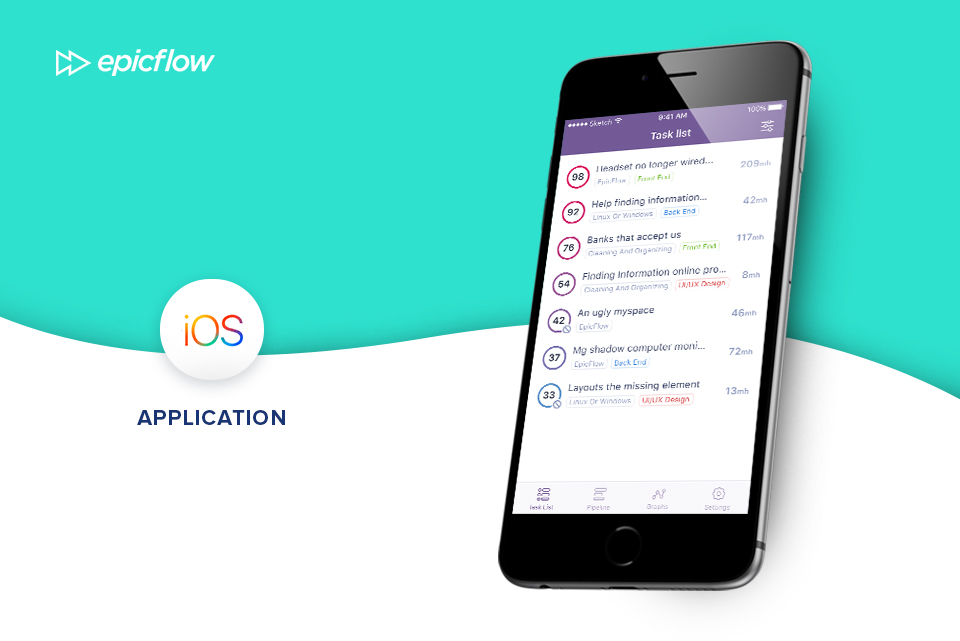 epicflow-mobile-application-software-for-project-management-new-saas-PM-tool-PPM