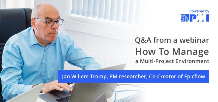 project management webinar Q&A